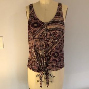 Rory Beca Tie-Front Tank